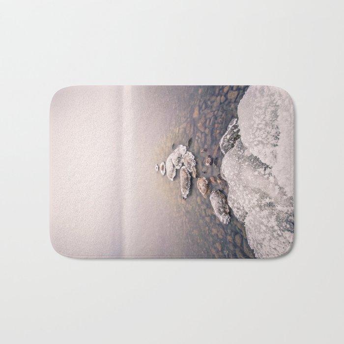 Frozen Path Bath Mat