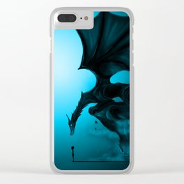 Boy and Dragon Clear iPhone Case