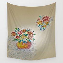 Flower pattern Wall Tapestry