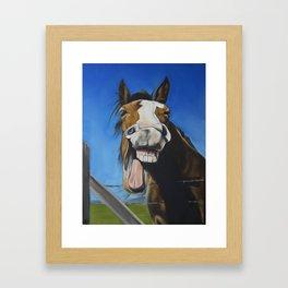 Crazy Horse #2 Framed Art Print
