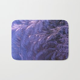 Ice Fractals 2 Bath Mat