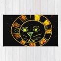 Neon Chalkboard Lion Face GRRR by weedenarts