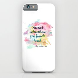 Enter where you fear to tread | Tower of Dawn iPhone Case