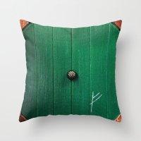 the hobbit Throw Pillows featuring The Hobbit by Janismarika