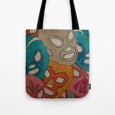 love lucha Tote Bag