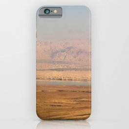 View from Masada iPhone Case