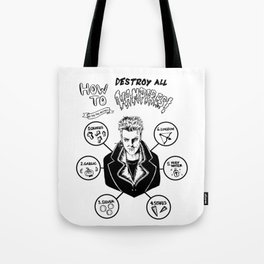 How To Kill A Lost Boy Tote Bag
