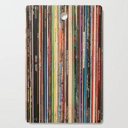 Alternative Rock Vinyl Records Cutting Board