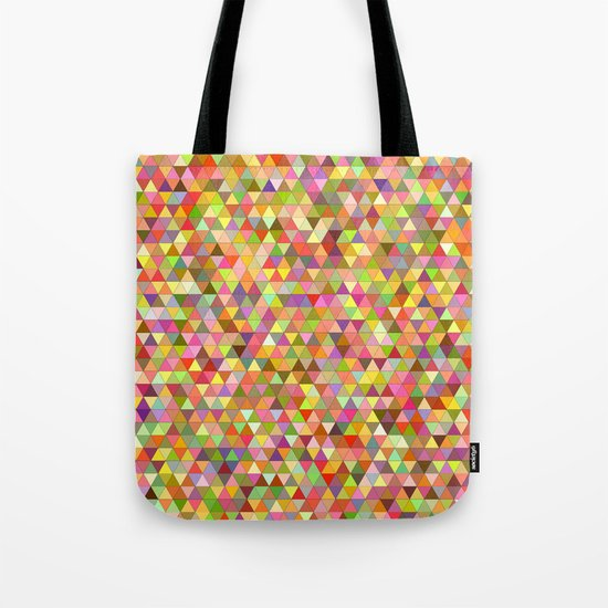 Happy summer triangles Tote Bag