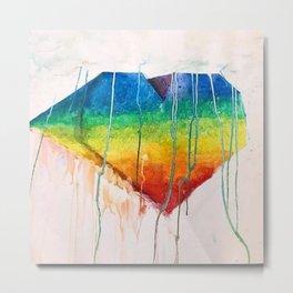 Dripping Love Metal Print