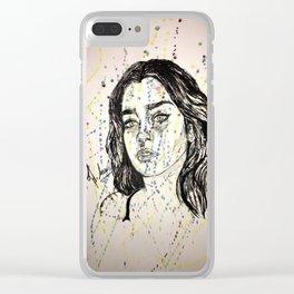 Lauren Jauregui Painting ( Fan Art piece) Clear iPhone Case