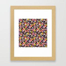 Floral Haze Framed Art Print