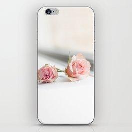 Baby pink roses iPhone Skin