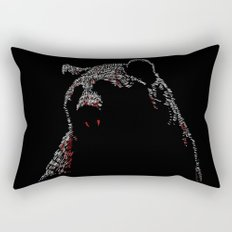 Vampire Bear Rectangular Pillow