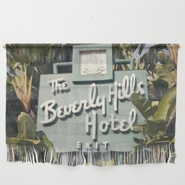 Beverly Hills Hotel Wall Hanging