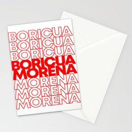 Boricua Morena Puerto Rican Stationery Cards