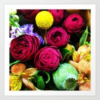 Flowers Everywhere! Art Print