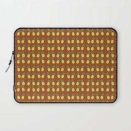 Bright Earthy Fall Terracotta Pineapples Laptop Sleeve