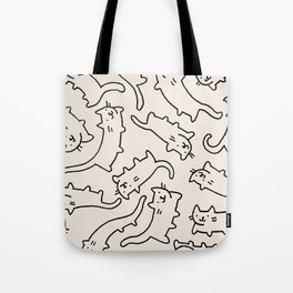 Floating Cats Tote Bag