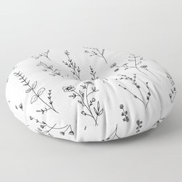 New Wildflowers Floor Pillow