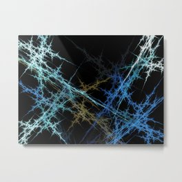 Nerve Swing Metal Print