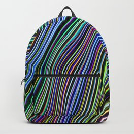 Wild Wavy Lines 08 Backpack