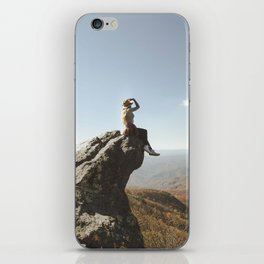 On Top of the World iPhone Skin