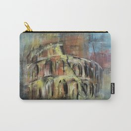 Abstract Rome Carry-All Pouch