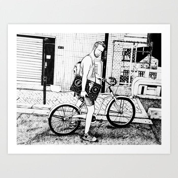 Tim Art Print