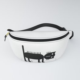 Standing Cat Fanny Pack
