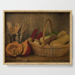 Autumn Harvest Serving Tray