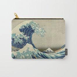 Katsushika Hokusai -The Great Wave off Kanagawa Carry-All Pouch