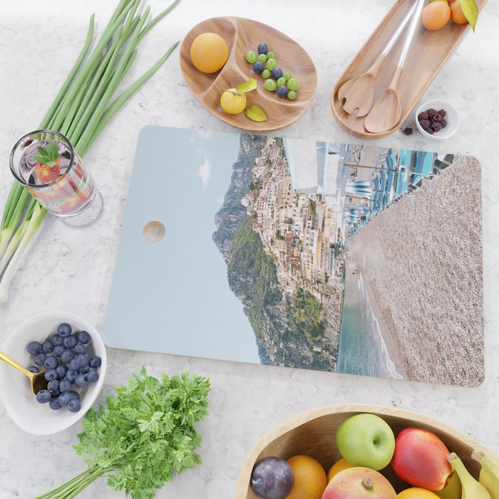 Amalfi Coast Beach Cutting Board