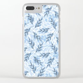 pattern 64 Clear iPhone Case