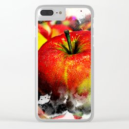 Fruits and berrys I Clear iPhone Case