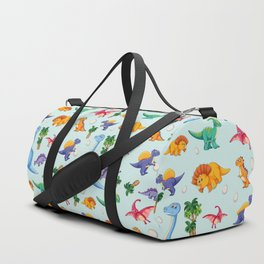 Colorful Cute Dinosaur Pattern Duffle Bag
