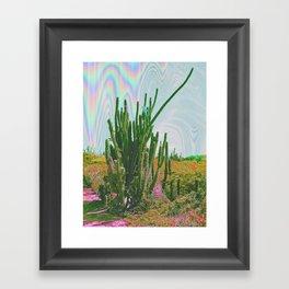 this cacti Framed Art Print