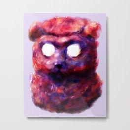 self-portrait as bear Metal Print