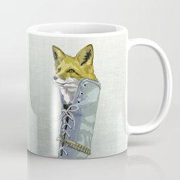 Fox in Boot Coffee Mug