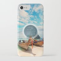 calendar iPhone & iPod Cases featuring CALENDAR JANUARY 4 by Ylenia Pizzetti
