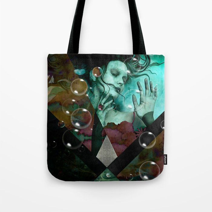 """""""The witch of the water forest"""" Tote Bag"""