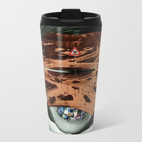 Critical Mass Metal Travel Mug