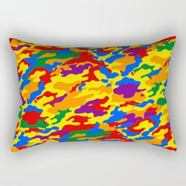 Homouflage Gay Stealth Camouflage Rectangular Pillow