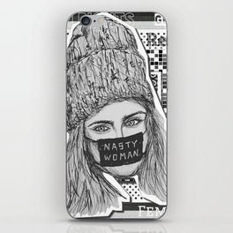(Cara - Nasty Woman) - yks by ofs珊 iPhone Skin