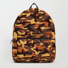 Fall Camouflage Backpack