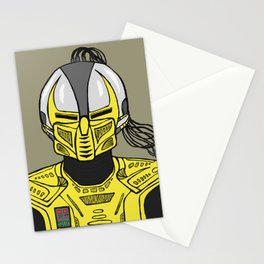 A Sentinel. An Assassin. Stationery Cards