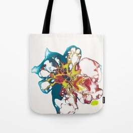 Acrylic Pouring Tote Bag