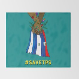 #savetps Throw Blanket