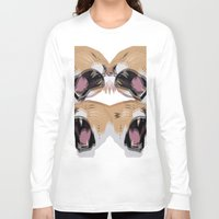 simba Long Sleeve T-shirts featuring Young Simba by Original Bliss