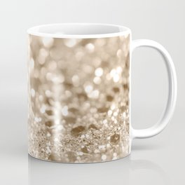 Gold Lady Glitter #2 #shiny #decor #art #society6 Coffee Mug